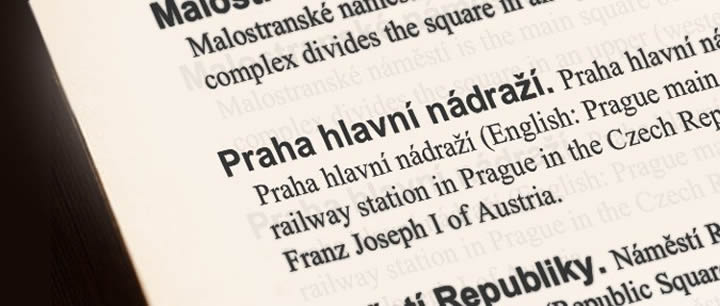 Czech Words that Don't Exist in English