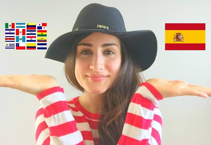 Using Iberian Spanish in Latin America
