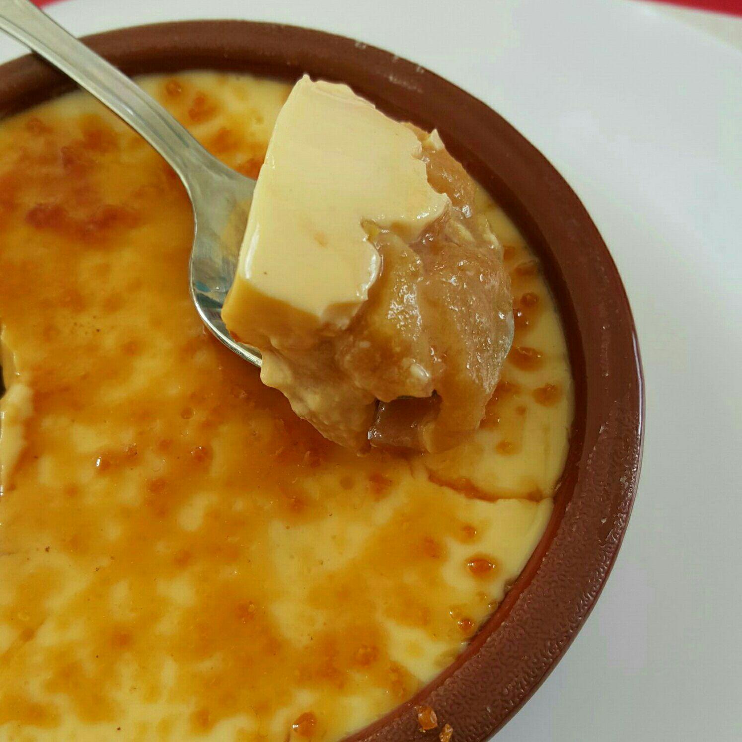 Crème brûlée aux pommes