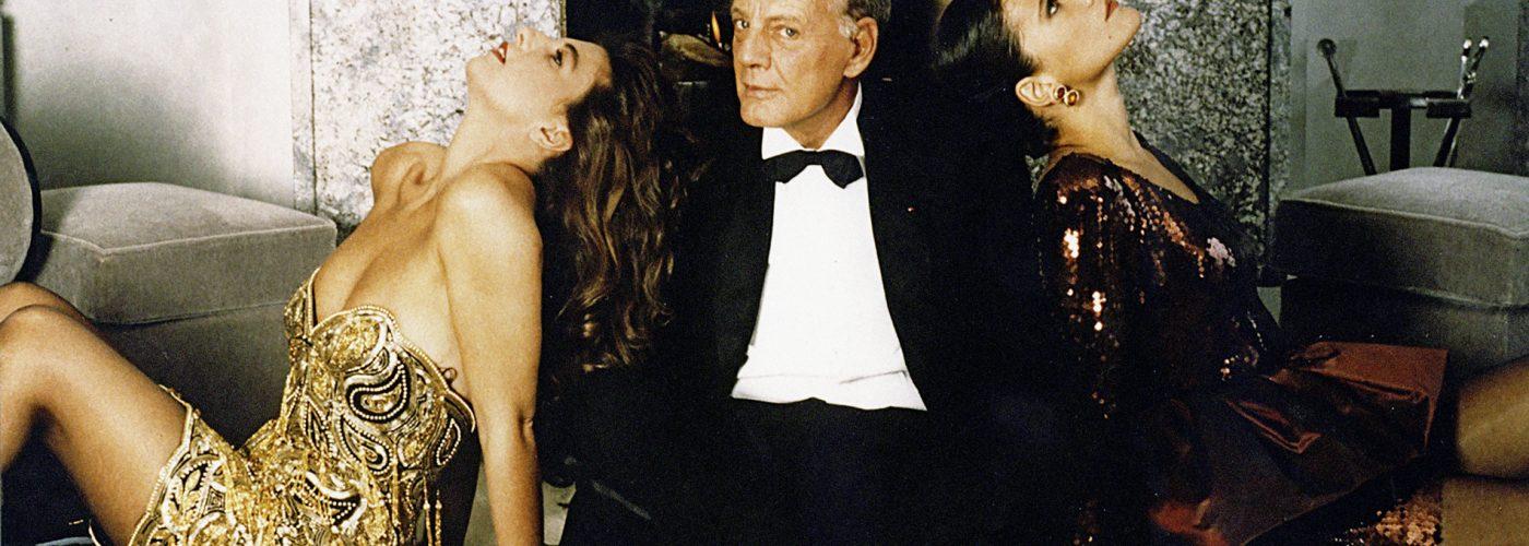 loris-azzaro-avec-ses-deux-filles-catherine-beatrice-azzaro