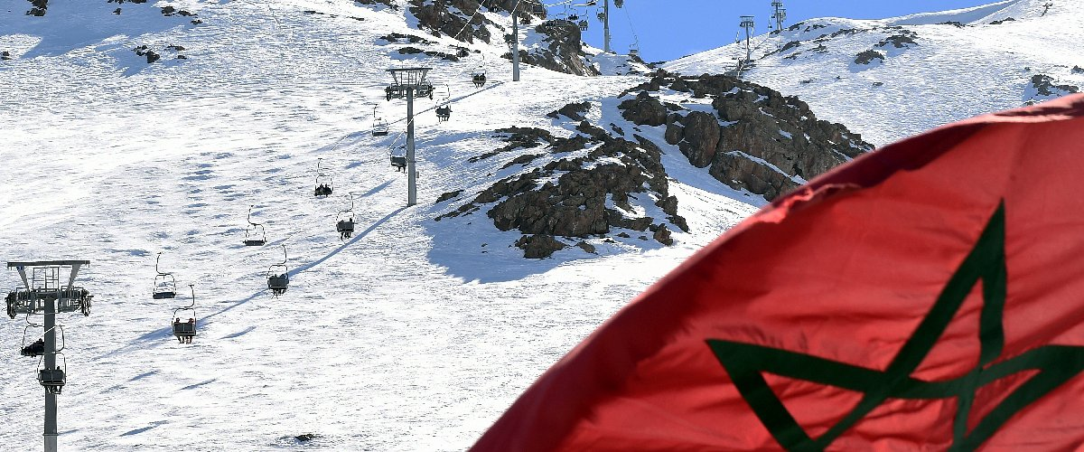 skier en afrique